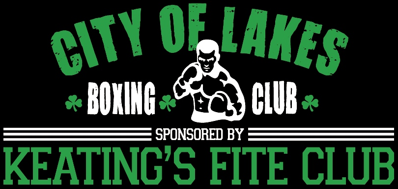 City Of Lakes Boxing - Sponsored By Keating's Fite Club - Halifax's Best Boxing Club